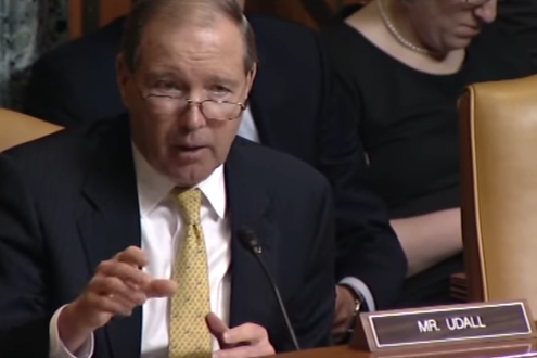 Udall Votes for Major Defense Bill to Strengthen NM & Nation
