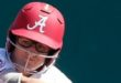 Alabama and Florida match up tonight in NCAA softball