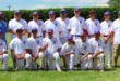 Santa Fe hosted the Southwest Junior Little League Baseball Regional in fine style, with St. Michael's taking good care of its ballpark and the volunteer umpires standing tall