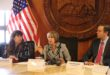Gov. Lujan Grisham holds first Cabinet meeting