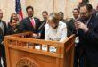 Governor signs landmark energy legislation, establishing  New Mexico as a national leader in renewable transition efforts