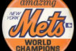 In 1969, it was the amazin' Mets socking the ball, knocking the ball all over the wall, M-e-t-s, Mets, Mets, Mets … the world champions of baseball