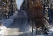 Winter Road Conditions on the Santa Fe National Forest