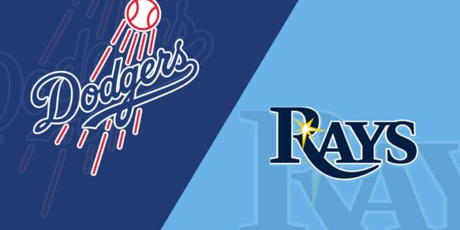 Rays and Dodgers come to a deadlock